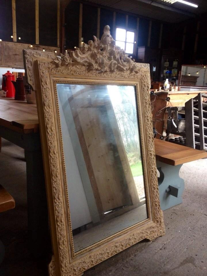 Decorative French Vintage Mirror - Vintagefurniturebarn