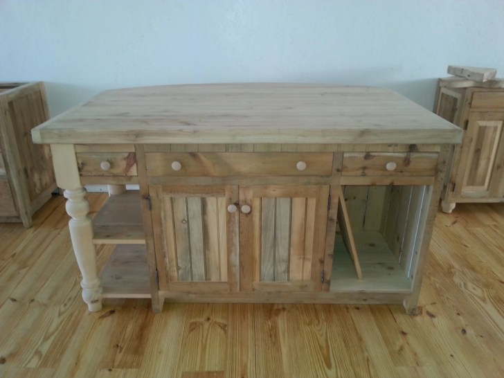 Reclaimed Barn Wood Kitchen Island Valentinodesigns