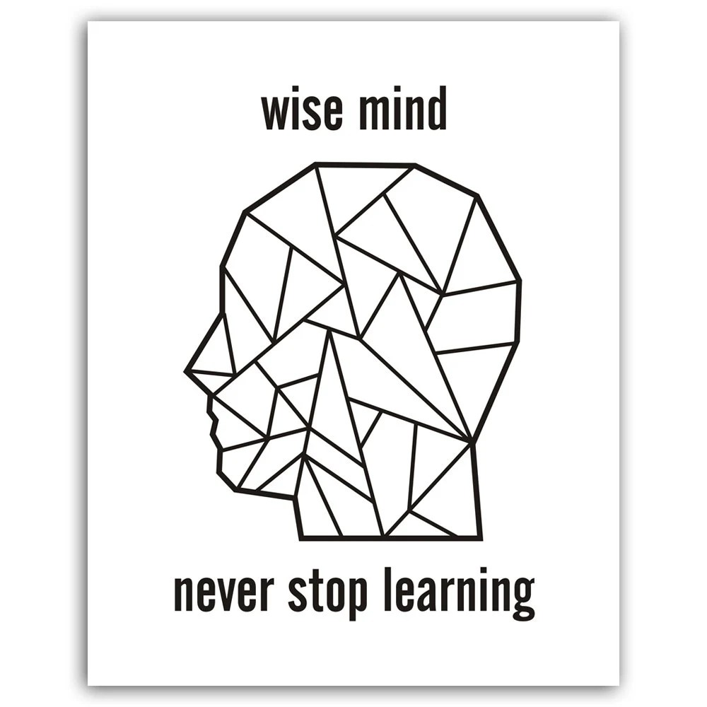 Popular items for never stop learning on Etsy