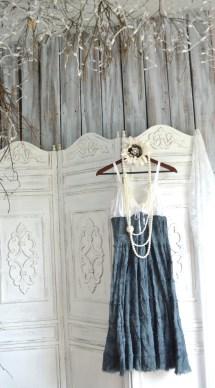 Summer Sundress Bohemian Tiered Maxi Dress Boho Chic