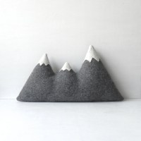 the Sisters ORIGINAL woolen mountain pillow Made To Order