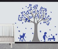 Vinyl tree wall design