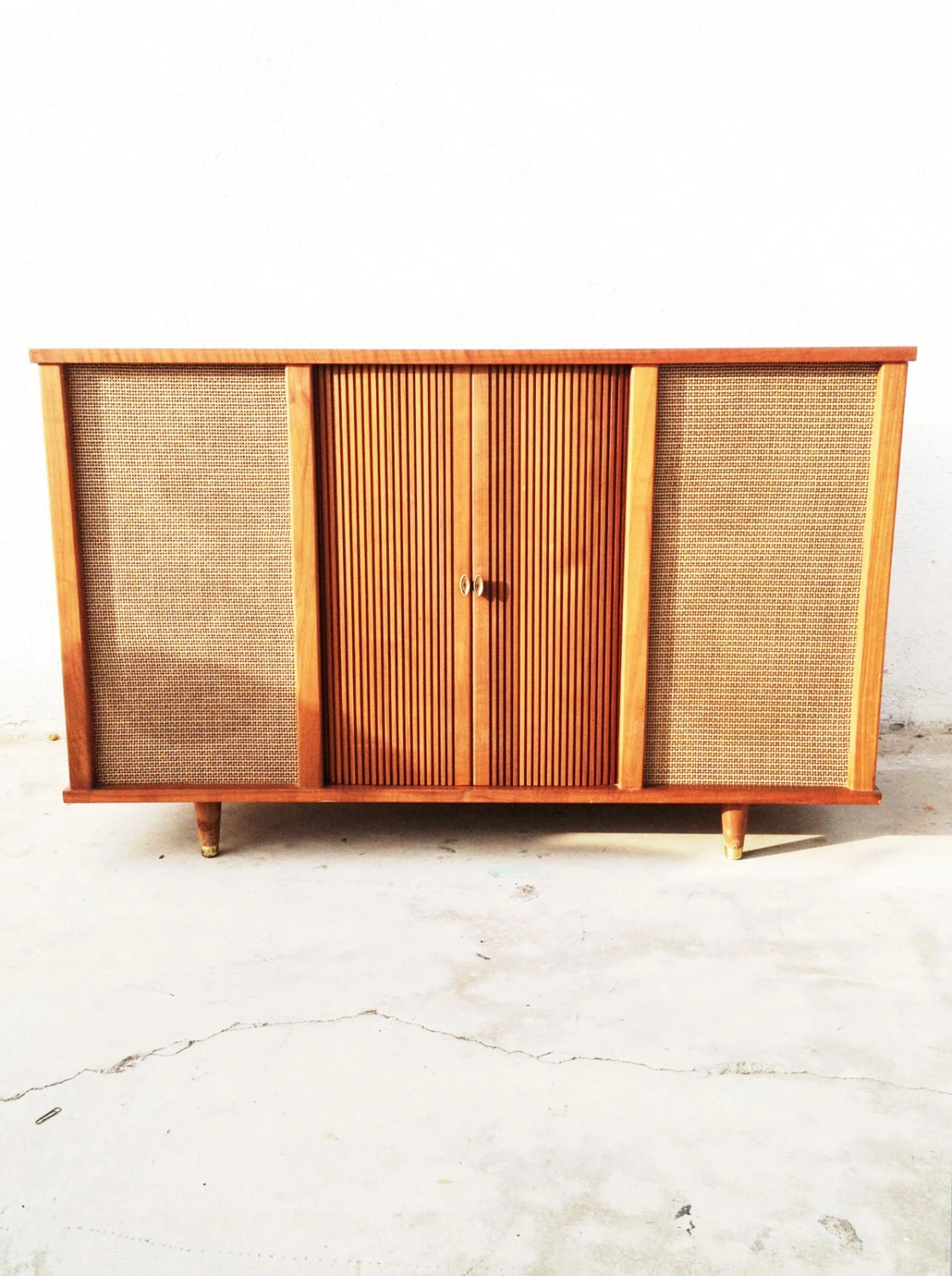 Mid Century Stereo Console CURTIS MATHES Mid Century stereo