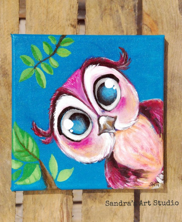 Cute Acrylic Paintings On Canvas