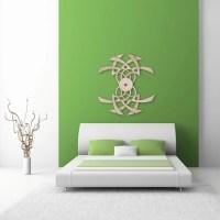 Items similar to Wood Wall Art- Optical Illusion Wood Wall ...