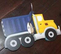 Dump Truck Boys Clothes Peg Rack Clothing Rack Hat Holder for