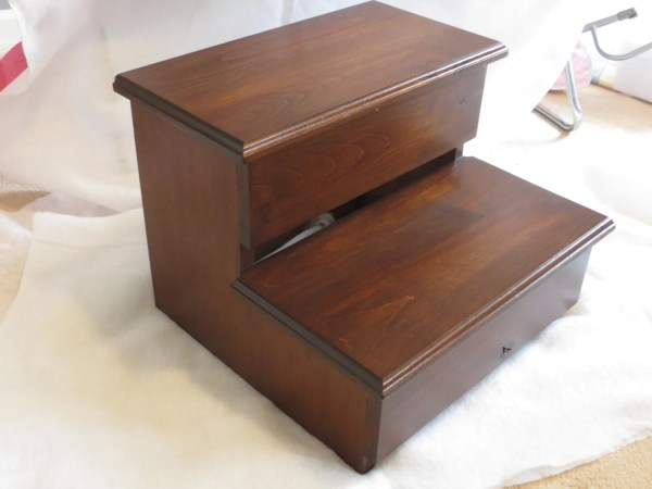 Adult Wooden Step Stool