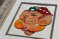 Made to Order Handmade Paper Quilling Lord Ganesha Framed