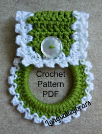 Crochet Kitchen Towel Holder Pattern Pattern to by ...