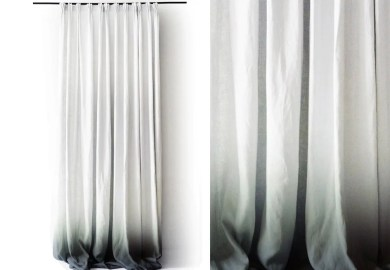 Gray Ombre Curtains