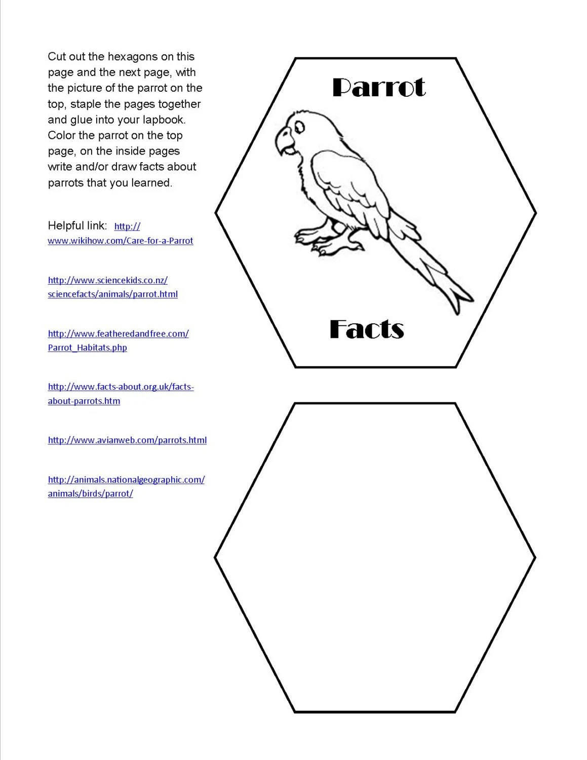 Lapbook unit study Supplement for Magic Tree House book 4