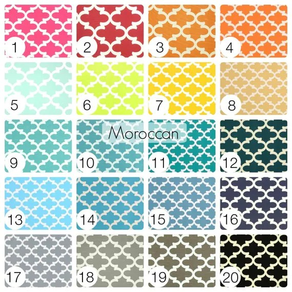 SUMMER SALE 10 OFF Moroccan Tiles Curtain Panels 25 Or 50