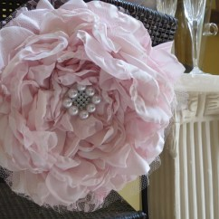Flower Chair Sashes For Wedding Egg Wicker Chairs Outdoor Cover Sash