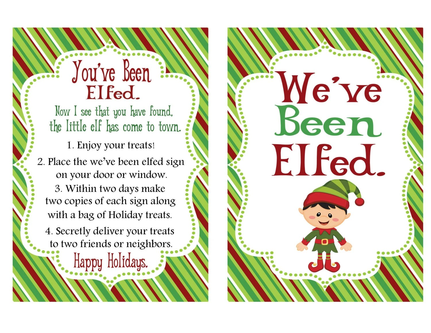 Items Similar To You Ve Been Elfed