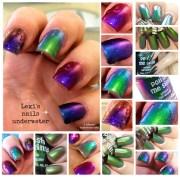 multichrome toe-tally cosmic multi-color