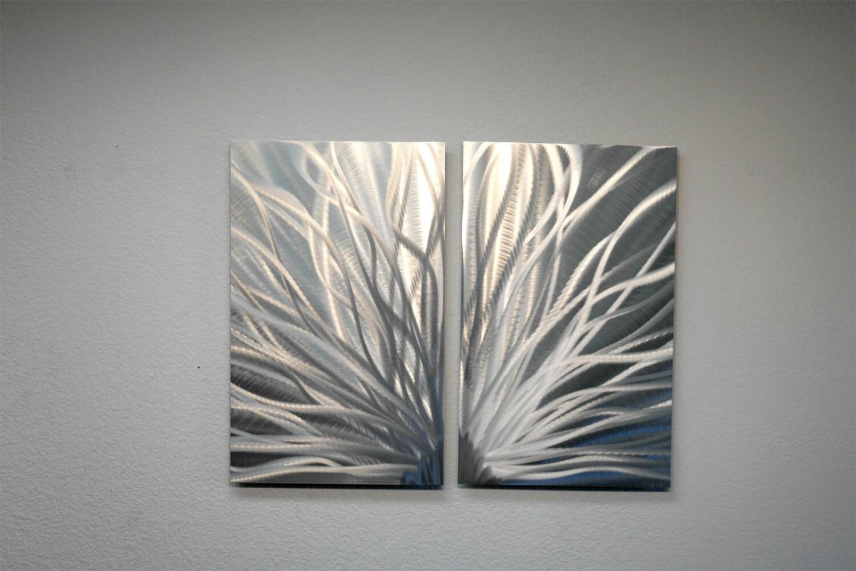 Metal Art Wall Art Decor Abstract Contemporary Modern Aluminum