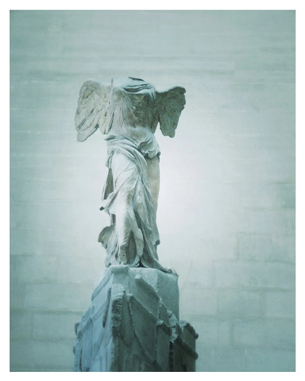 Winged Victory Statue Louvre