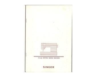 Items similar to Vintage Japanese Sewing Machine Manual
