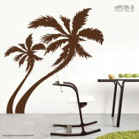 Large wall decals PALM TREE Vinyl stickers decor