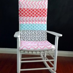 Rocking Chair Cushion Covers Design In Nepal Cover Pink Chevron Coral By