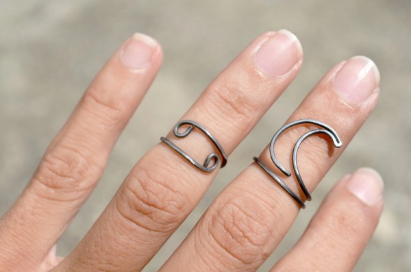 Cancer Zodiac Sign Ring Set Jewelry Above Knuckle