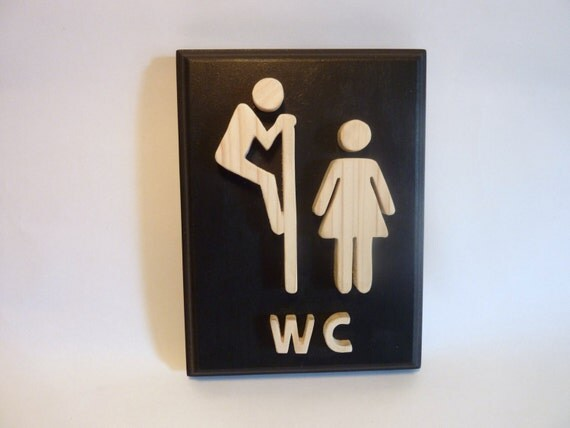 Mens Bathroom Logo