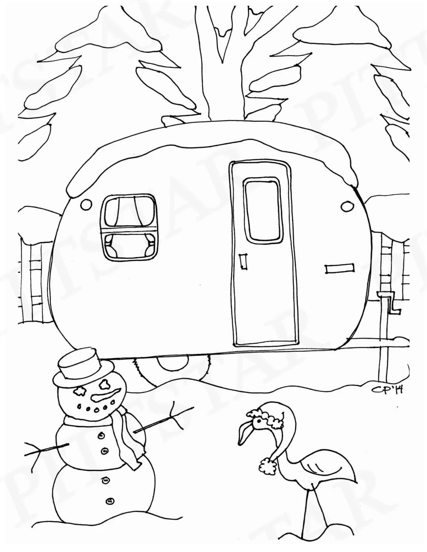Instant Download Christmas scene Vintage 1956 VaKaShunEtte