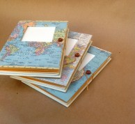 Versatile Travel Journal with Pockets and Envelopes - Personalized and Made to Order for You