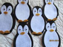 Felt Penguin Kit-DIY Christmas Crafts-Party Decorations ...