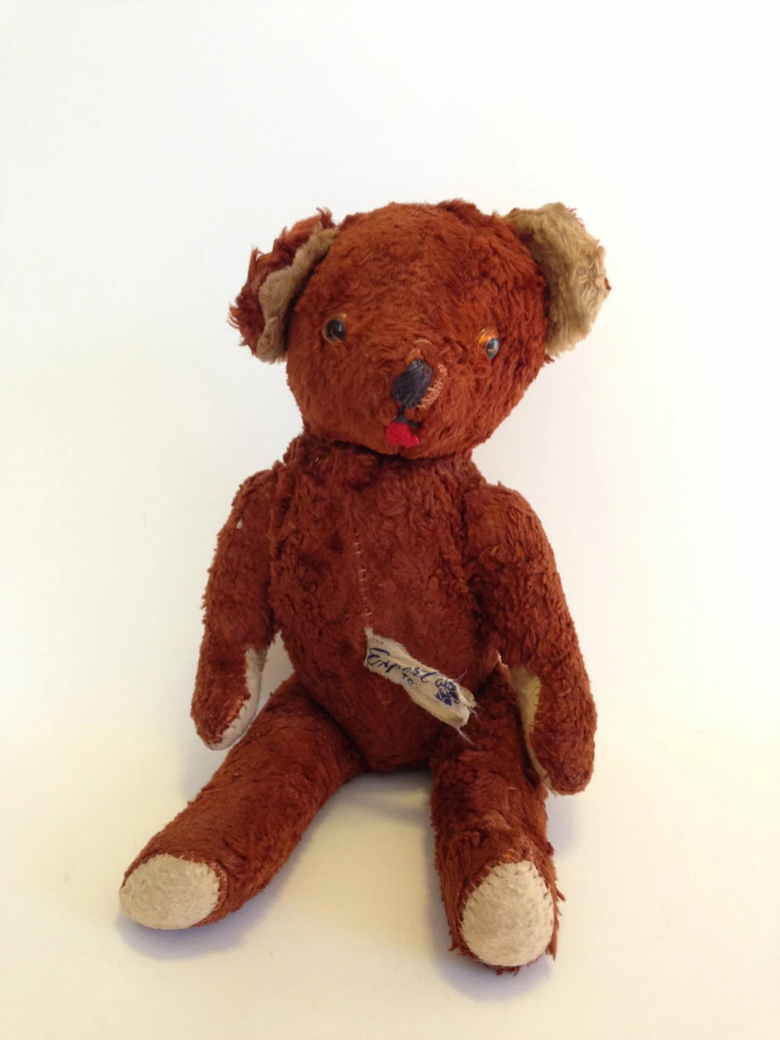 Vintage Teddy Bear Expert Doll And Toy Co New York