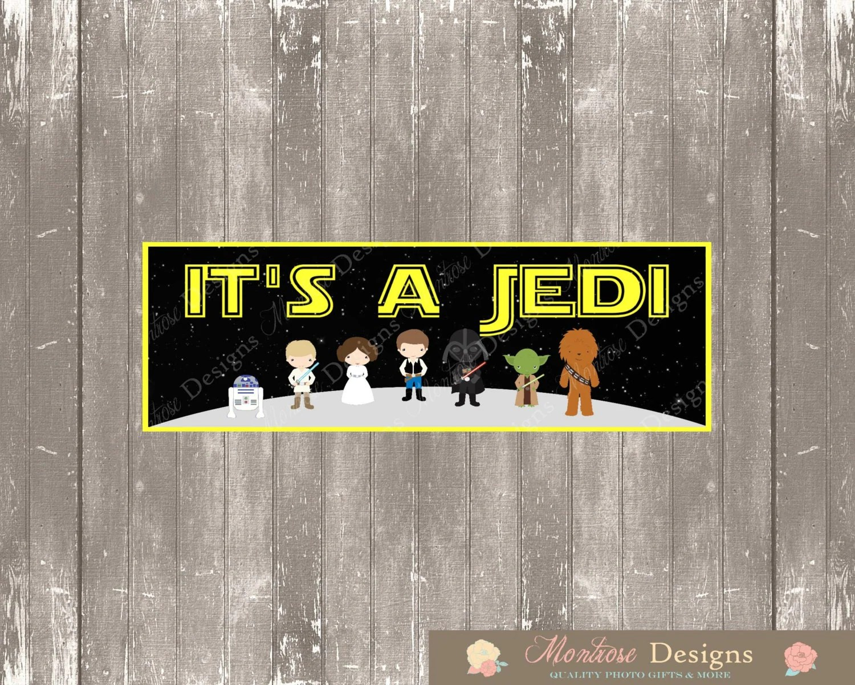 Star Wars Baby Shower 2ft X 6ft Banner It S A Jedi