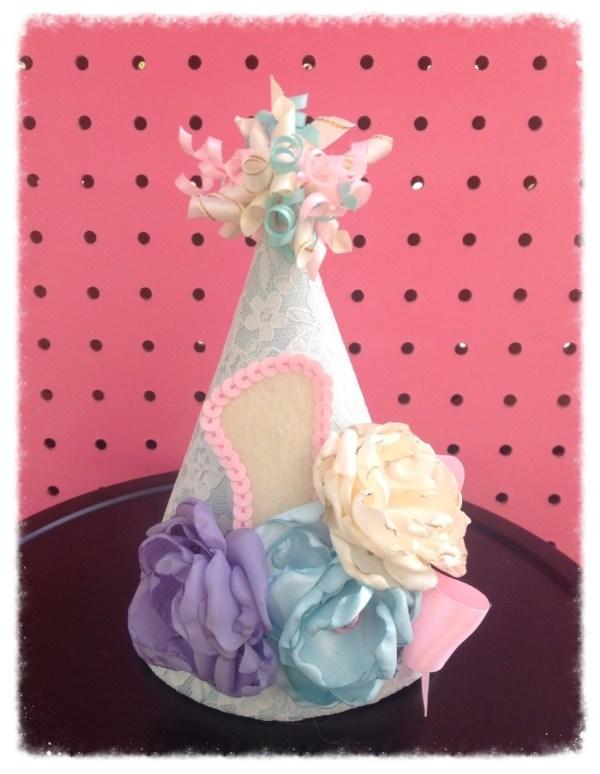 1st Birthday Hat. Beautiful Avabellababy