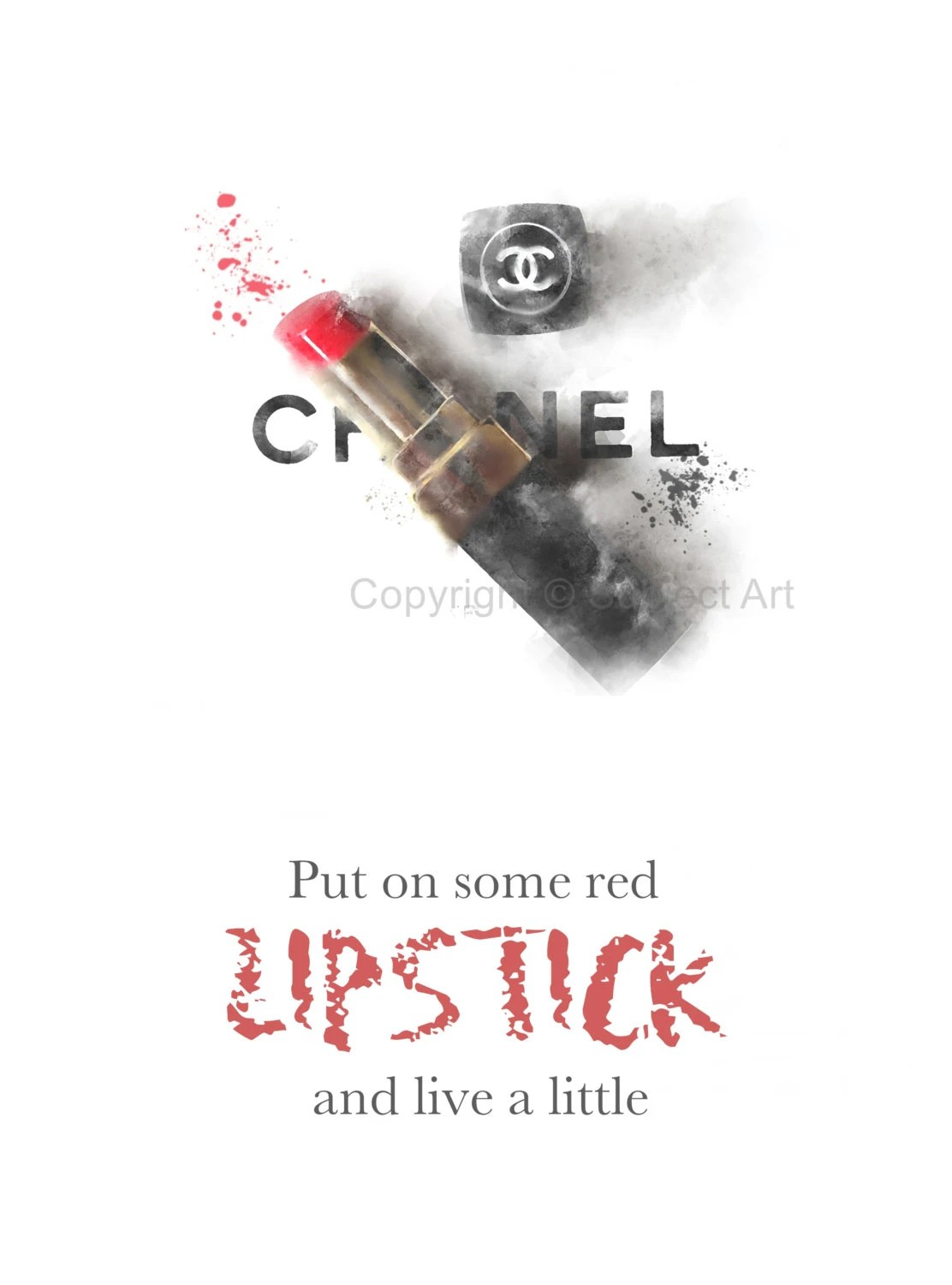 Lipstick Quotes Chanel Red Lipstick Quotes Picture