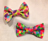 Easter Bow, Jelly beans Bow tie