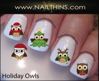 Penguin Nail Decal Holiday nail art by NAILTHINS from ...