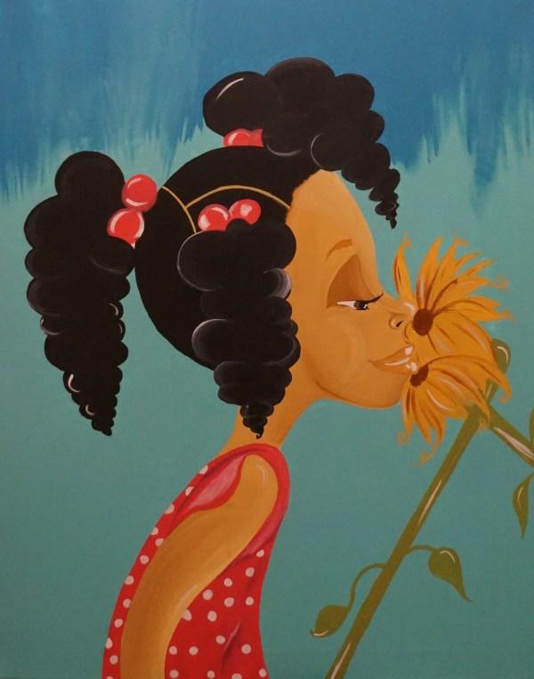 Black Art African American Little