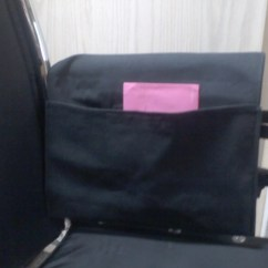 Chair Arm Protectors With Pockets Swivel Without Back Wheelchair Armrest Pouch Bag Or Walker Denim Cloth Large