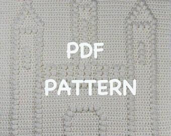 Princess Crown Baby Blanket Pattern Crochet Baby Security