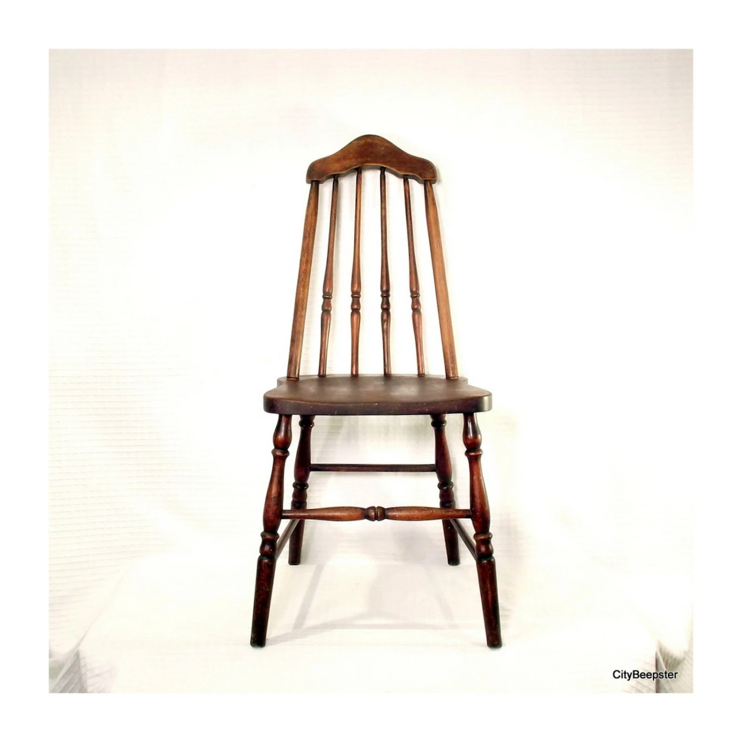 Wooden Chairs Pull Up A Chair Antique Wood Chair 1930s Taper Back