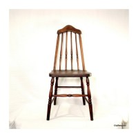 Pull Up a Chair Antique Wood Chair 1930s Taper Back