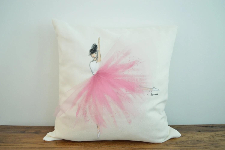Popular items for ballerina pillows on Etsy