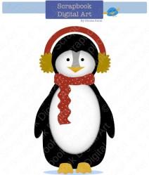 Items similar to Penguin Clip Art Penguin Clipart Cute