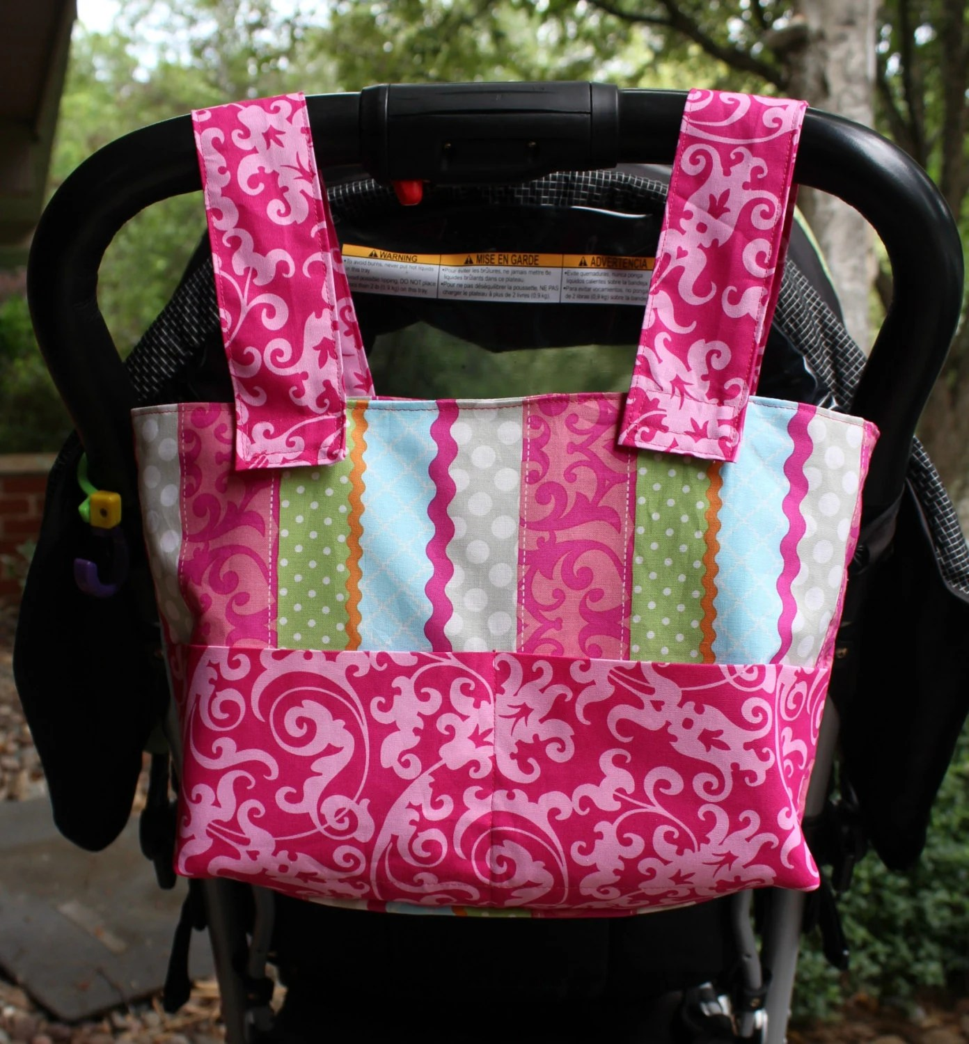 chair bags for school pattern plush rocking rhino tutorial walker stroller wheelchair bag