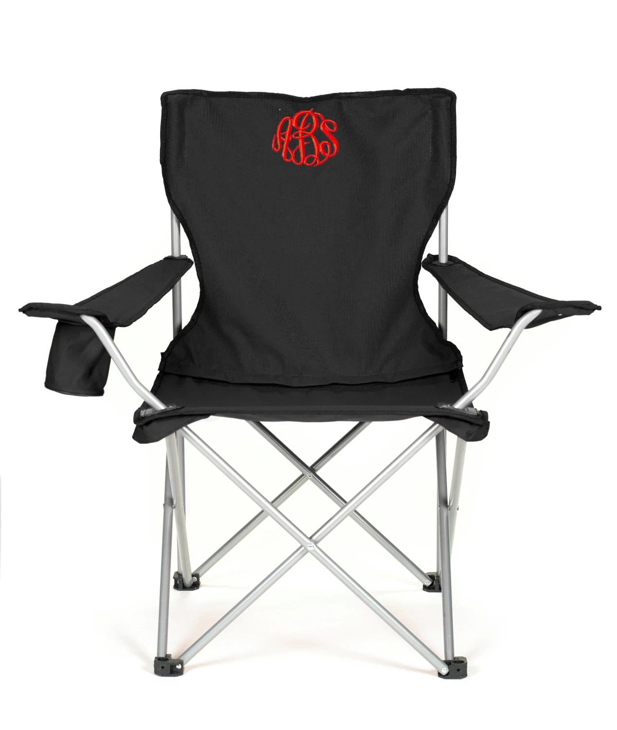 personalized folding chair hanging egg chairs australia monogrammed camping tailgating ballgame