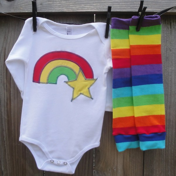 Rainbow Brite Girls Shirt Baby Bodysuit