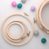 Embroidery hoops // Circle and Oval // Hoop Art, Wall Art ...