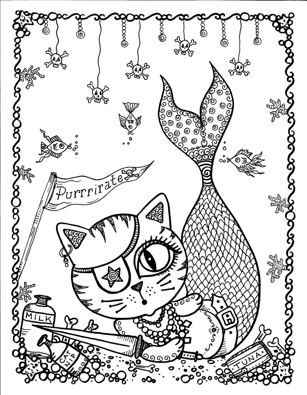 Items similar to Instant Download Halloween Coloring pages