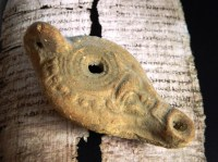 Items similar to Ancient Egyptian Terracotta Oil Lamp ...