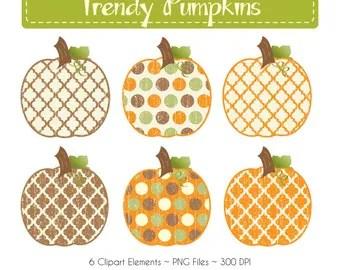 popular items cream and pumpkin