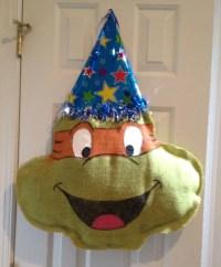 Items similar to Teenage Mutant Ninja Turtle Birthday ...